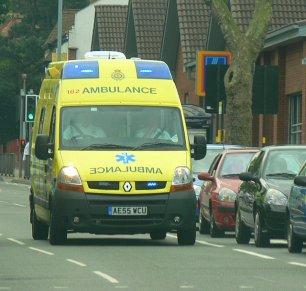 Ambulance on Blues