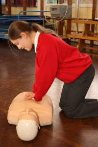 Heartstart at Broadlands Primary School 4 11-02-13