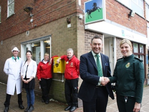 LIFE SAVING SERVICE AT WOLVERHAMPTON BANK 2