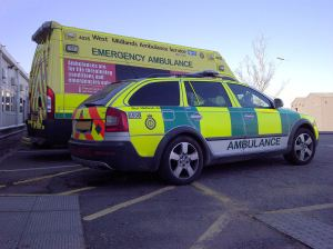 Ambulance and RRV