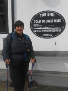 Nicola's Coast-to-coast for Heartstart