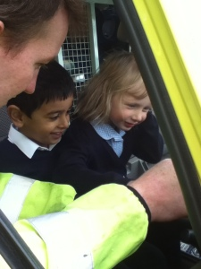 Visit to Wrekin View Primary 2 06-06-13