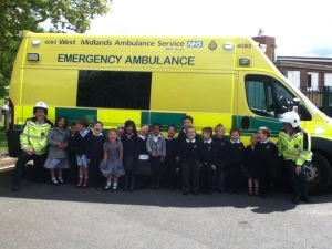Visit to Wrekin View Primary 3 06-06-13