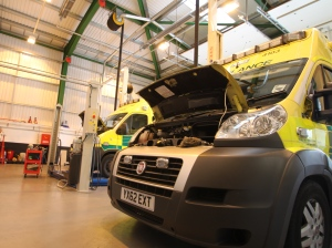 NEW HOME FOR AMBULANCES IN BIRMINGHAM 3