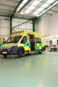 NEW HOME FOR AMBULANCES IN BIRMINGHAM 5