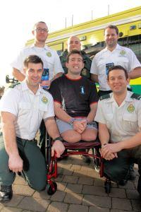 Paramedics Pedal for Pilgrim Bandits 1