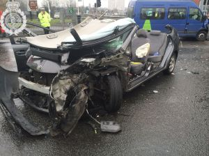 ROAD TRAFFIC COLLISION IN BIRMINGHAM 28-02-14