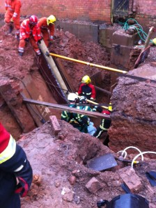 Trench incident 2 - 17.02.14