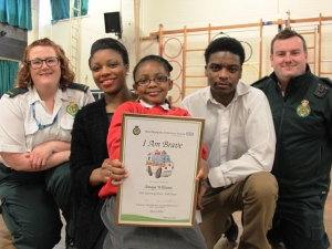 Bravery Award for Five Year old Girl 1