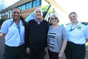 FAMILY ETERNALLY GRATEFUL FOR LIFE SAVING CARE 1