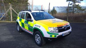 Leominster Community First Responders celebrate new response car 26-03-14