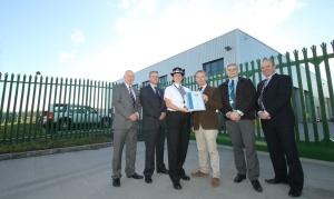 Police award for Make Ready hub 2 11-03-14