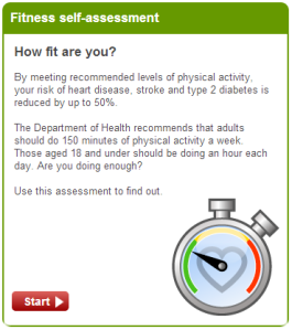 NHS CHoices Fitness Image