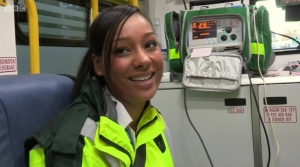 It's all going well for new Paramedic Maya