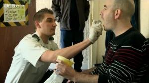 Ben giving medication
