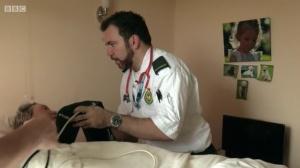 Rookie Paramedic Mark at work