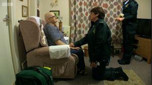 Julie and cancer patient Ethel