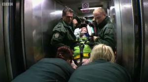 Julie - Patient in Lift