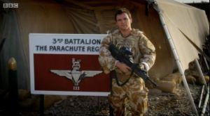 Mark in Parachute Regiment