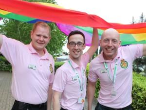 Parading with pride in Birmingham (2)