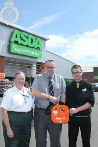 Asda is Better off with a defibrillator 1