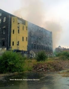 Dalton factory fire