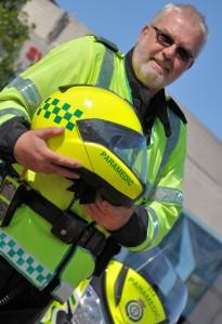 Biker paramedic Steve calls it a day (1)