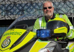 Biker paramedic Steve calls it a day (3)