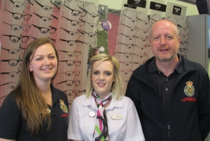Specsavers show support for Bridgnorth Community First Responders
