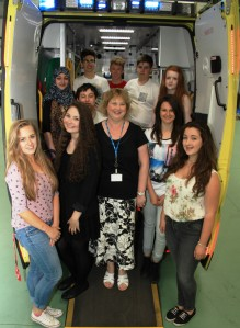 STUDENTS GO BEHIND THE NINES FOR WORK EXPERIENCE WEEK 2