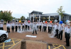Ambulance Control Room Staff Take on ICE BUCKET CHALLENGE 1