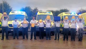 Ambulance Control Room Staff Take on ICE BUCKET CHALLENGE 2