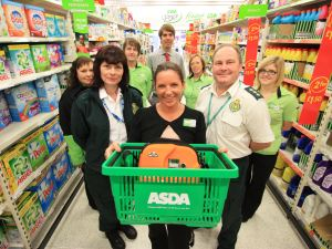 'AISLE' LOOK AFTER YOU SAY ASDA STAFF IN MERRY HILL