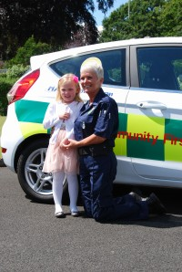 Girl's birthday present to CFRs