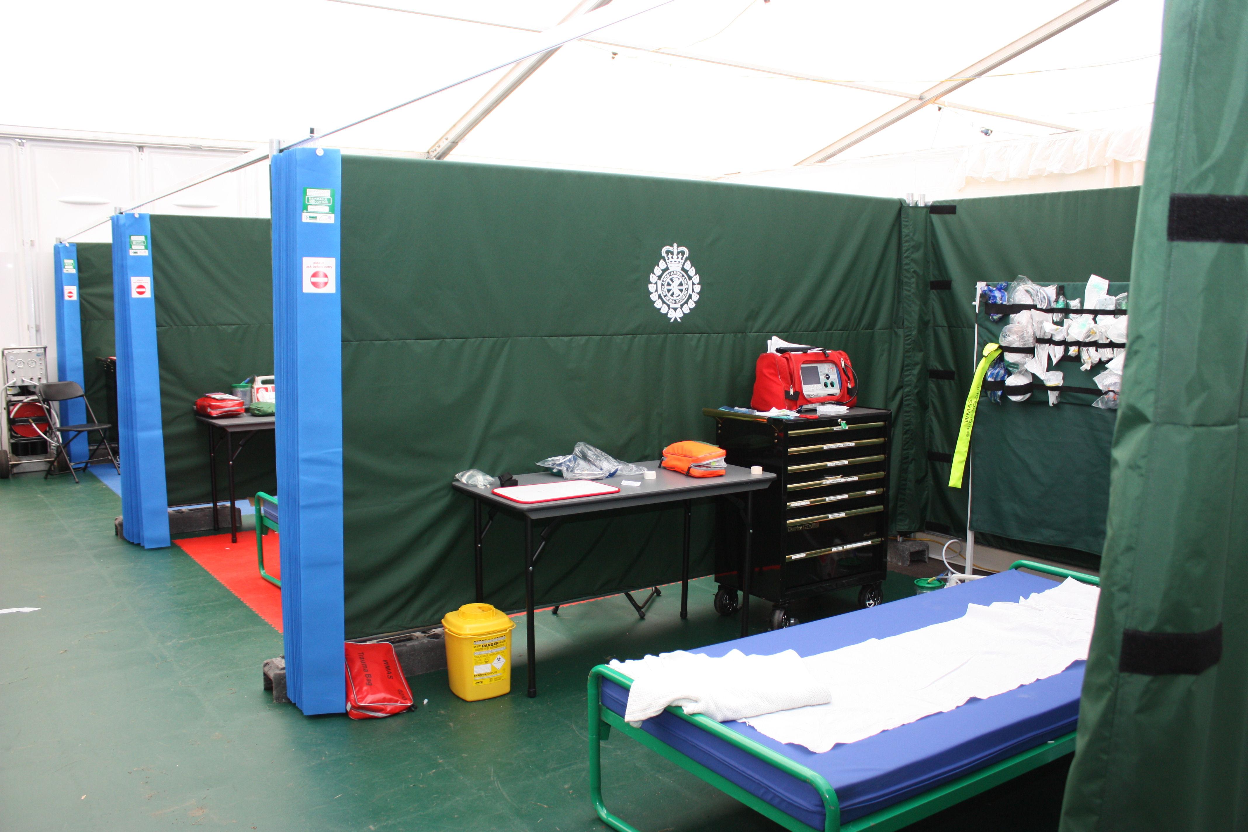 Medical Tent & Music tent or medical tentu2026u2026take your pick! u2013 West Midlands ...
