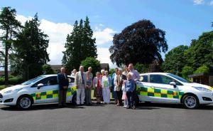 New cars for Shropshire CFRs 1