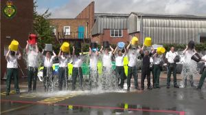 AMBULANCE SERVICE STAFF IN WARWICKSHIRE TAKE ON ICE BUCKET CHALLENGE 1