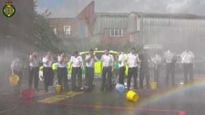 AMBULANCE SERVICE STAFF IN WARWICKSHIRE TAKE ON ICE BUCKET CHALLENGE 2