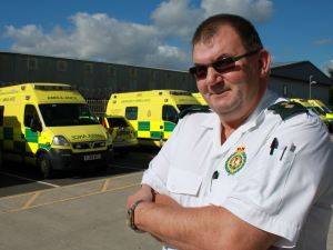 Paramedic Roy Calls it a Day After 35 Years (2)