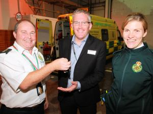 AMBULANCE JOINS SCENARIO VILLAGE AT FIRE SERVICE'S SAFESIDE (1)