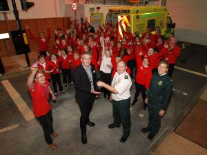AMBULANCE JOINS SCENARIO VILLAGE AT FIRE SERVICE'S SAFESIDE (2)