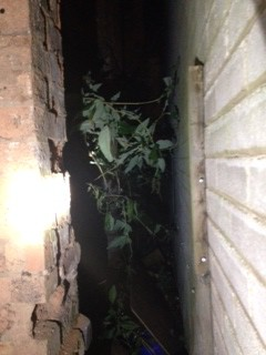 man trapped in passageway 1