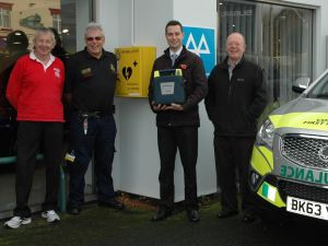 Lifesaving Community Collaboration in Balsall Common