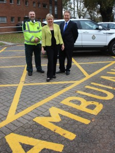 Lorely Visits New CAS Site in Solihull 2