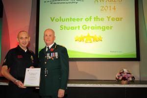 Stuart Grainger - Volunteer of the Year 2
