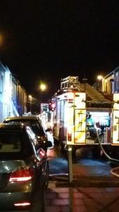 House fire Stoke