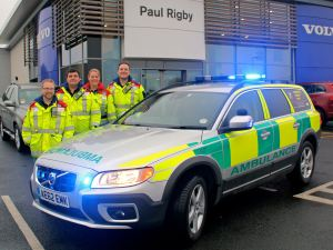 LIFE SAVING CARE TEAM GET IN GEAR WITH NEW SET OF WHEELS 1