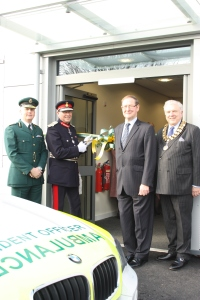 New ambulance hub opens in Lichfield 2