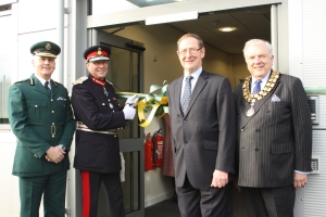 New ambulance hub opens in Lichfield