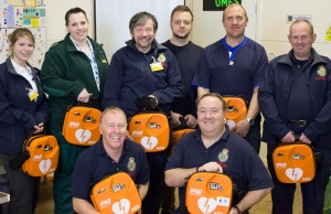 The Big Lottery Funds defibrillators for Shrewsbury 10-12-14